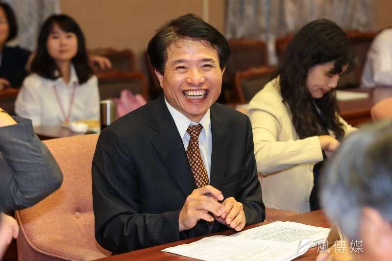 NCC副主委被提名人翁柏宗1日出席交通委員會備詢。(顏麟宇攝)