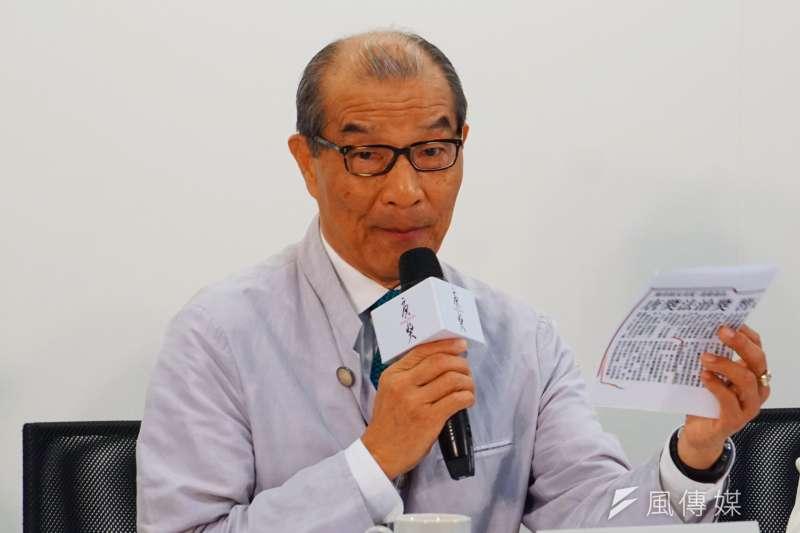 唐獎第二屆法治獎得獎人公佈記者會 律師陳長文 盧逸峰攝