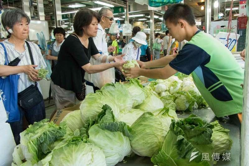 作者認為,對於年後蔬菜到貨爆量,導致菜拍賣價暴跌,政府有必要深入檢討並究責,才不會讓問題再次發生。(李振均攝)