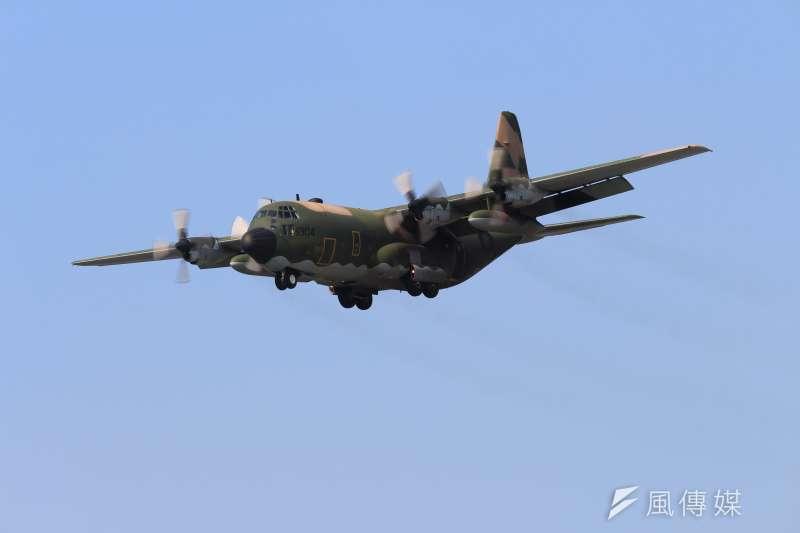 運輸機、C-130運輸機、C130、國軍配圖。(方炳超攝)