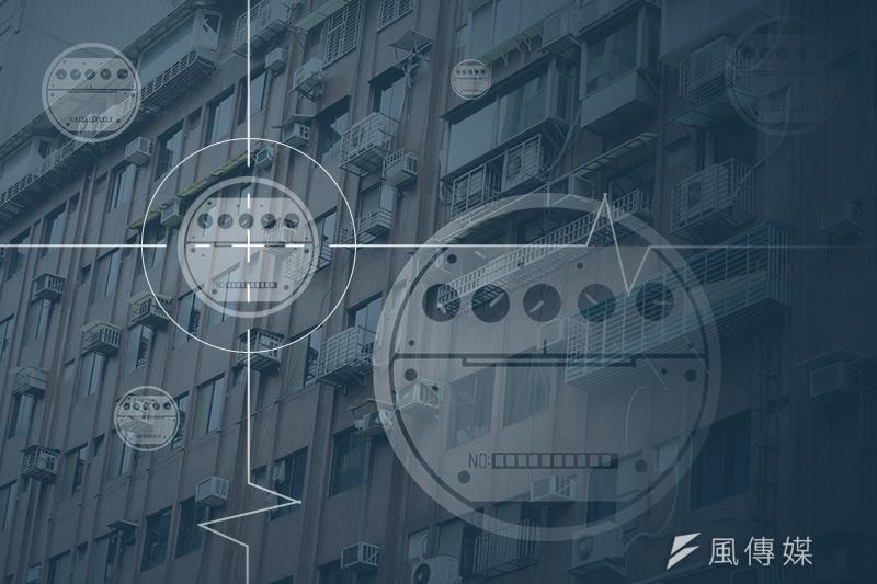 每天下午最有可能發生限電危機的用電尖峰,其實有6成是因為一般民生用電造成的。(陳明仁攝/影像合成:風傳媒)