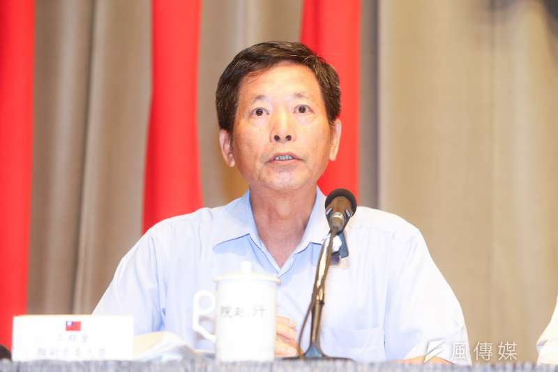 20160811-行政院院會記者會.工程會副主委顏久榮(陳明仁攝)