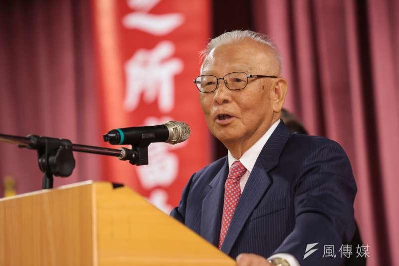 新黨大老許歷農將軍日前臉書貼文表示,有生之年不再反共。(顏麟宇攝)