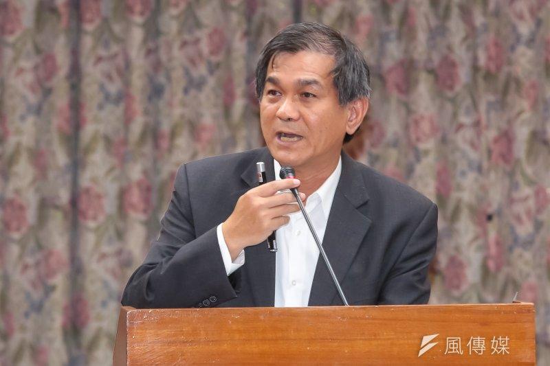 20161005-科技部長楊弘敦5日於立院教育委員會備詢。(顏麟宇攝)