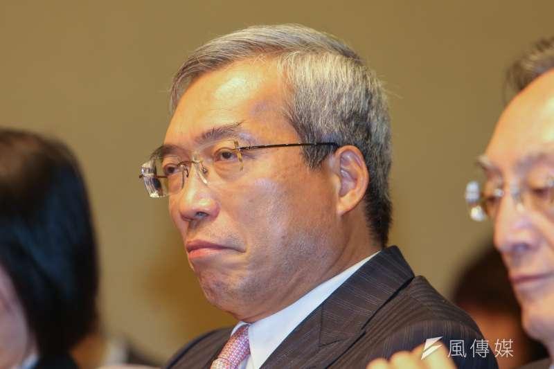 20161111-APEC經濟領袖會議「宋領袖代表行前國際記者會」.隨團成員:今周刊發行人謝金河(陳明仁攝)