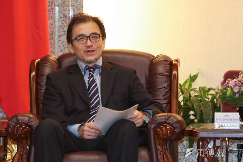 總統府秘書長劉建忻也在會中直言,「賴院長希望農曆年前完成初選民調」,與會者就解讀,府院態度一致,希望在農曆年前完成初選。(資料照,顏麟宇攝)