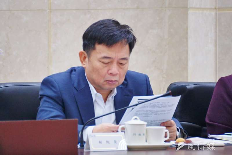 行政院副院長林錫耀說明,政府會加快推出4年總金額超過兩兆元的公共建設相關計畫,配合預算支持,希望有整體提振經濟效果。(資料照,盧逸峰攝)