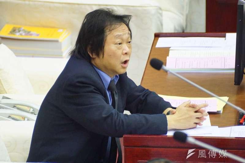 20170109-台北市市議員王世堅。(盧逸峰攝)