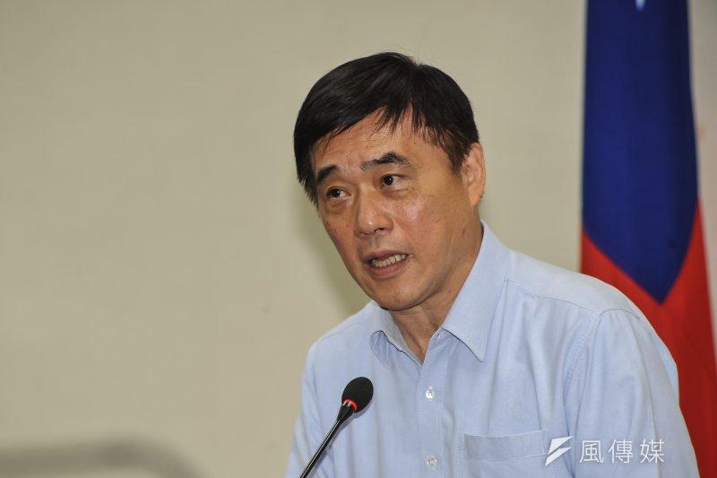 國民黨副主席郝龍斌11日表示,「盼黨中央舉辦公平、公開、公正的選舉」,建立好的典範,並邀全民監督。(甘岱民攝)