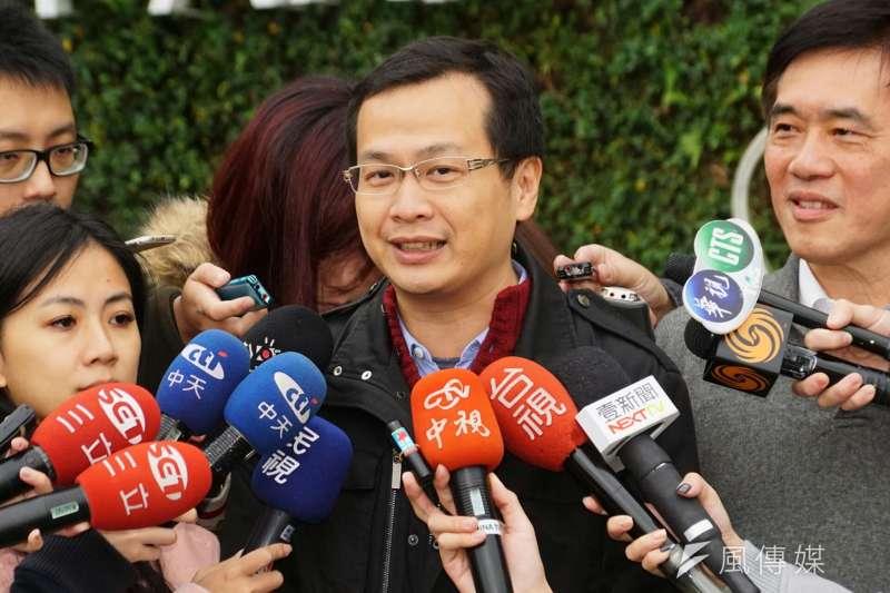 前總統府副秘書長羅智強14日表態,將支持前立委丁守中參選台北市長,並出任其青年及網路總策畫。圖為羅智強。(資料照,盧逸峰攝)
