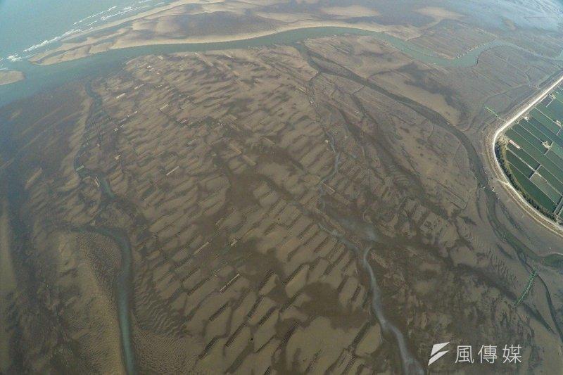 彰化海岸擁有全台灣最大的泥質潮間帶,寬度長達6公里。(彰化縣環境保護聯盟提供)
