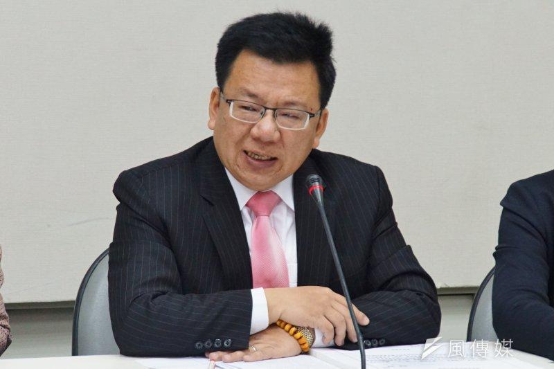 20170302-立委李俊俋。(盧逸峰攝)