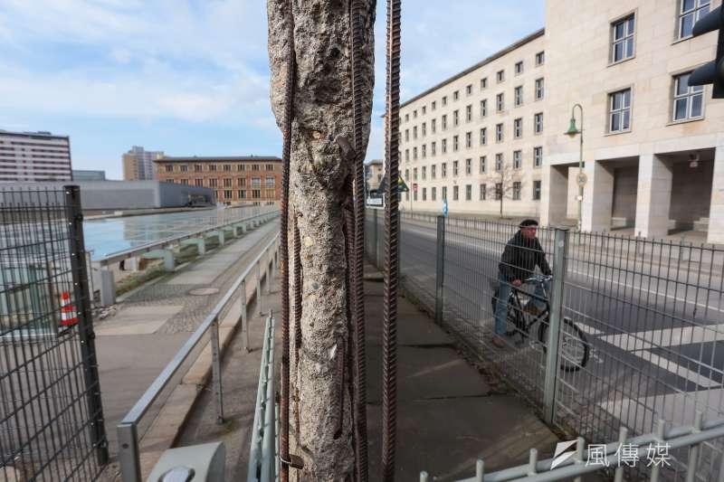 20170305-德國綠能專題,德國柏林圍牆原址。(顏麟宇攝)