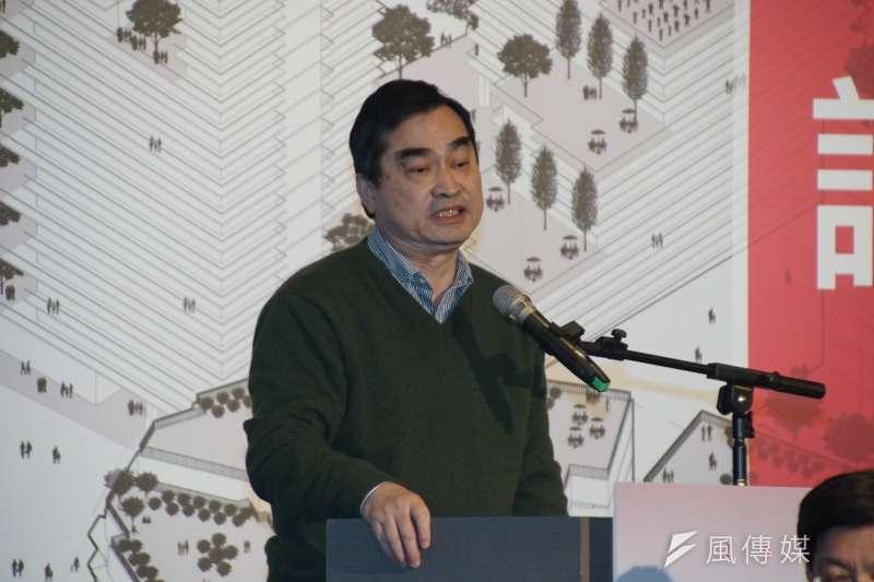 20170313-台北市居住正義論壇,副市長鄧家基出席。(盧逸峰攝)