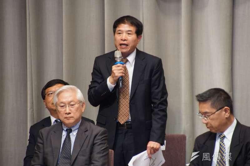 20170321-行政院記者會,NCC副主委翁柏宗發言。(盧逸峰攝)