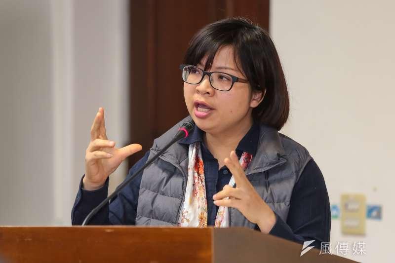 林淑芬今(29)日在衛環委員會質疑勞動部曾「依法行政」的「法」是75函釋,已在去年廢止,批評勞動部根本是依法無據。(資料照,顏麟宇攝)