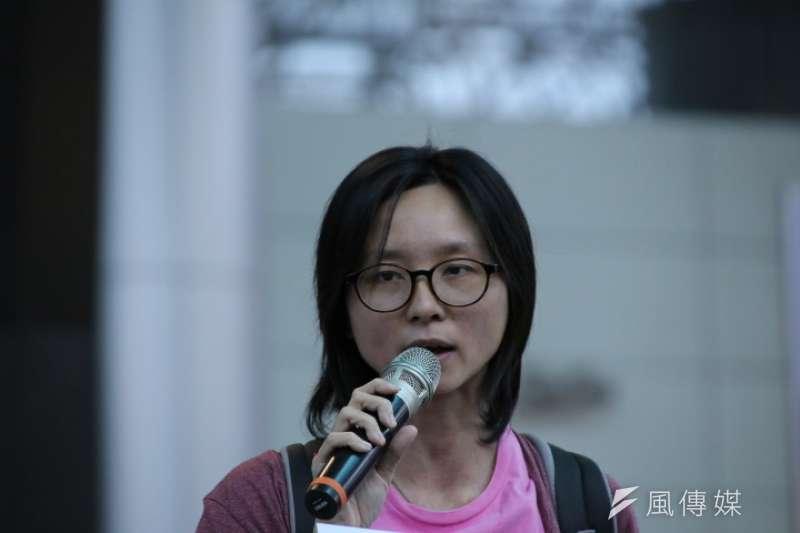 2017-04-10-李凈瑜赴北京不成-於機場召開記者會-邱伊翎-石秀娟攝