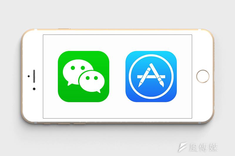 受到蘋果IAP機制影響,微信選擇關閉iOS系統的「打賞」功能(風傳媒製圖)