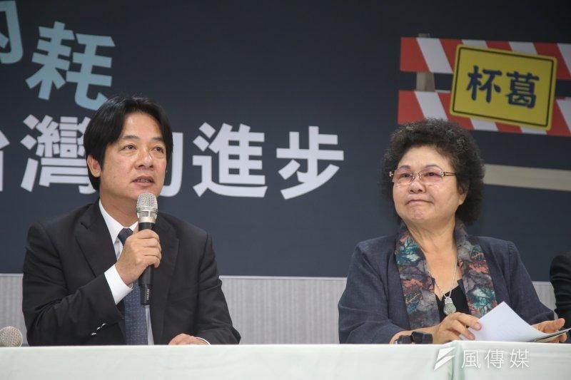 因人口變動,台南市可望增加一席立委,高雄市將少一席,高雄市長陳菊質疑中選會的根據。(資料照片,陳明仁攝)