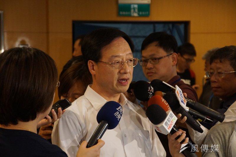20170513-長風基金會公共政策座談會,江宜樺出席。(盧逸峰攝)