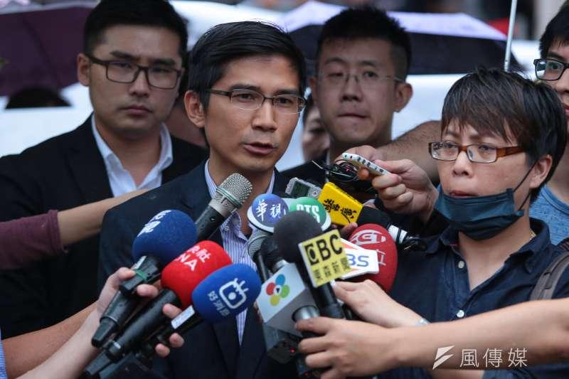 幸福盟家長代表曾獻瑩表示,如果要改變一夫一妻制的婚姻,應該要由全民公投決定。(資料照,顏麟宇攝)