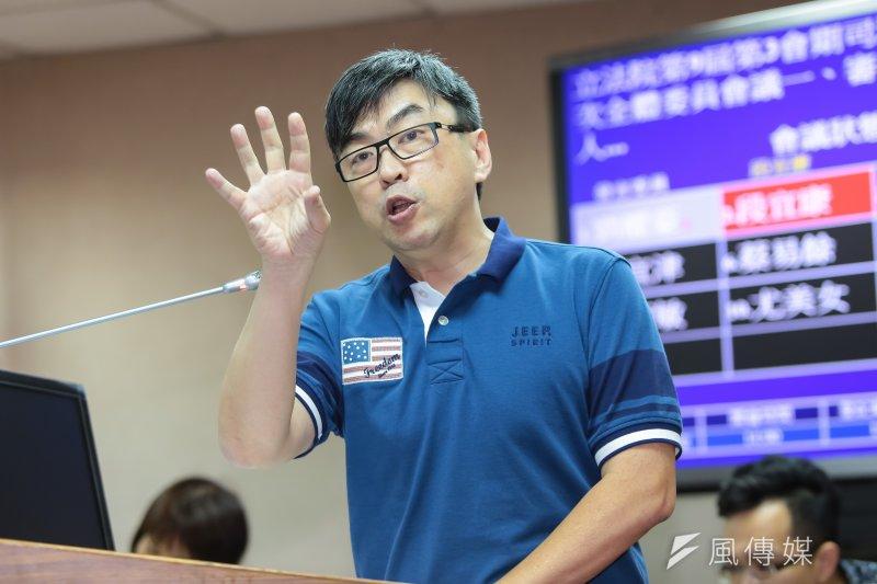 20170525-民進黨立委段宜康25日於司法法制委員會質詢。(顏麟宇攝)