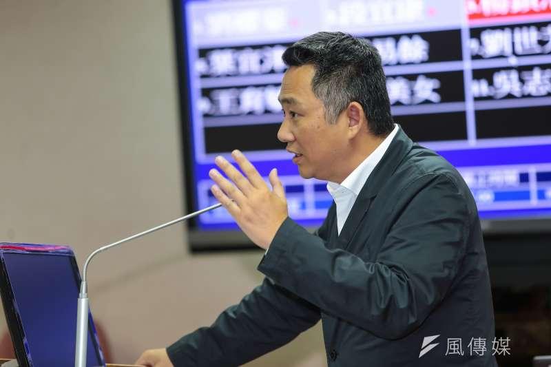 20170525-國民黨立委楊鎮浯25日於司法法制委員會質詢。(顏麟宇攝)