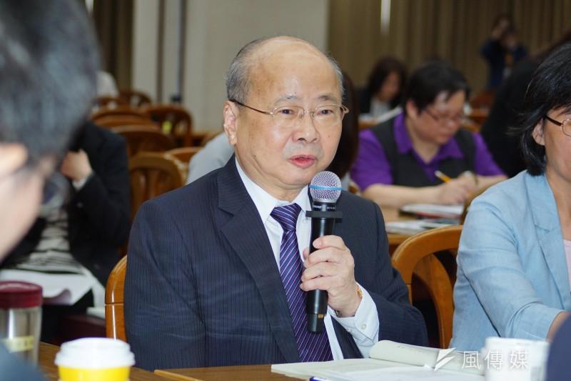 金管會主委李瑞倉宣布解除何夀川永豐金董座職務。(盧逸峰攝)