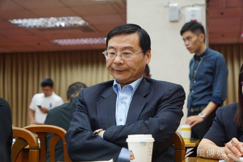前金管會主委、國民黨立委曾銘宗反擊包庇永豐金的批評。(資料照片,盧逸峰攝)