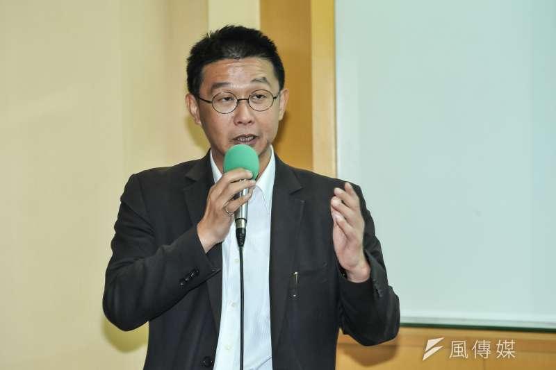 20170526-公視座談會,立委許智傑。(甘岱民攝)