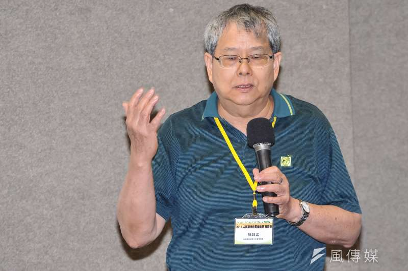 20170603-「人民期待的司法改革座談會」,台灣綠色逗陣之友會理事長陳師孟。(甘岱民攝)