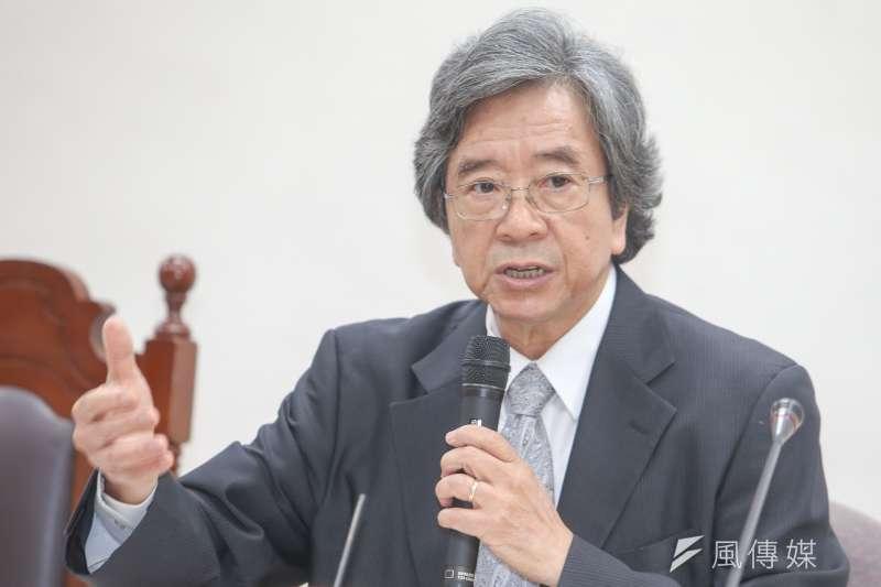 遠景基金會主辦的「玉山論壇:亞洲進步與創新對話」昨(11)日登場,總統府資政蕭新煌出席。(陳明仁攝)