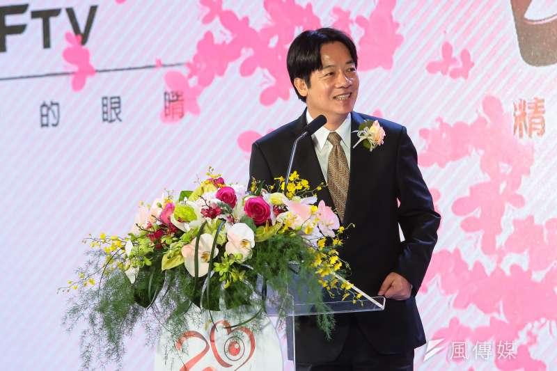 台南市長賴清德赴美並發表演說。(資料照片,顏麟宇攝)