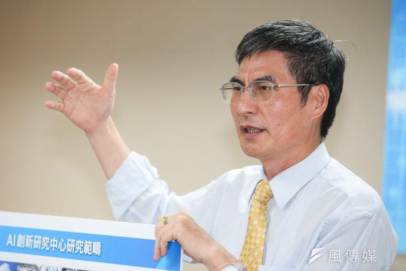 科技部長陳良基。(資料照片,陳明仁攝)