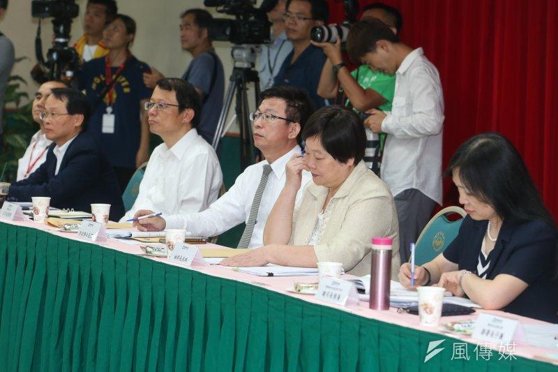 勞動部長林美珠表示,將儘速提出最低工資法。(資料照片,陳明仁攝)