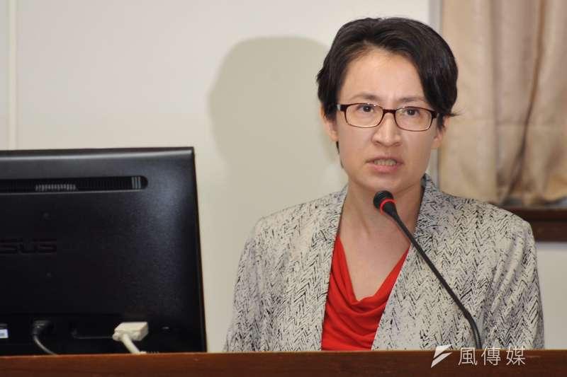 20170718-經濟委員會,立委蕭美琴。(甘岱民攝)