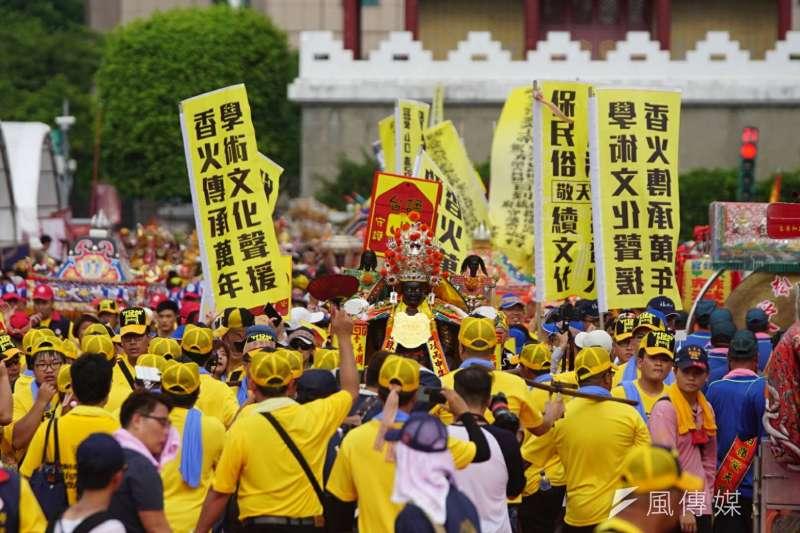 2017-07-23--「史上最大科,眾神上凱道」遊行,上百轎班於凱道繞境03-盧逸峰攝