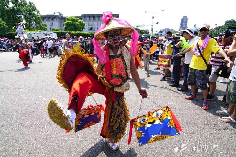 20170723-眾神上凱道,許多宗教團體共襄盛舉。(盧逸峰攝)
