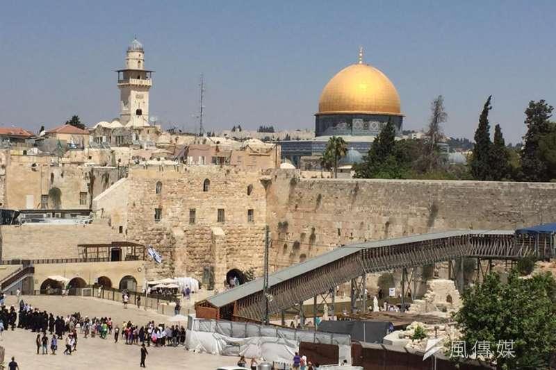 耶路撒冷如何成為以巴衝突的核心?(簡恒宇攝)