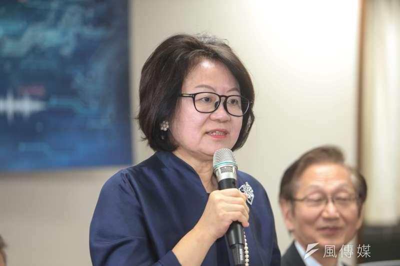 公共電視董事長陳郁秀(陳明仁攝)