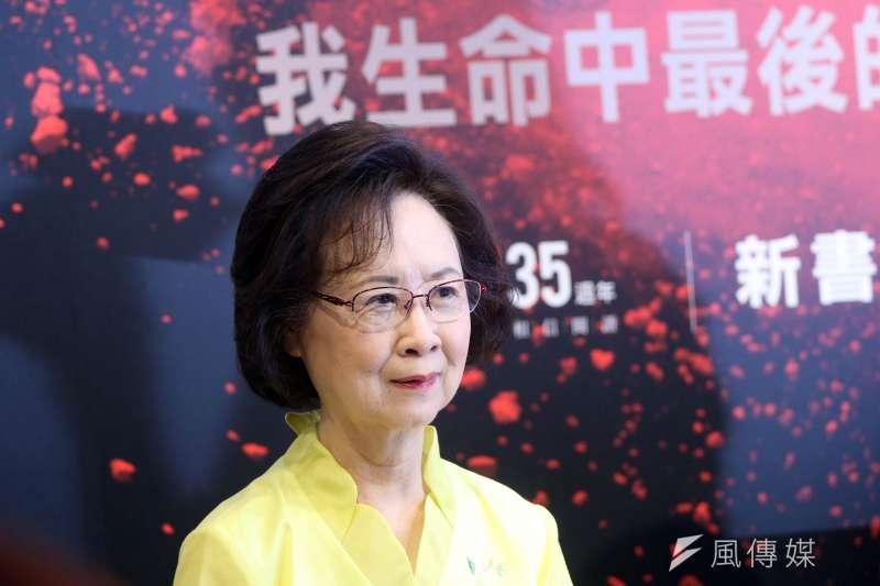 「陳喆的筆名瓊瑤、瓊瑤的小說、電影、電視劇揚名華人世界。瓊瑤在她的兄弟姐妹中,學歷最低,但成就最高⋯⋯」(蘇仲泓攝)