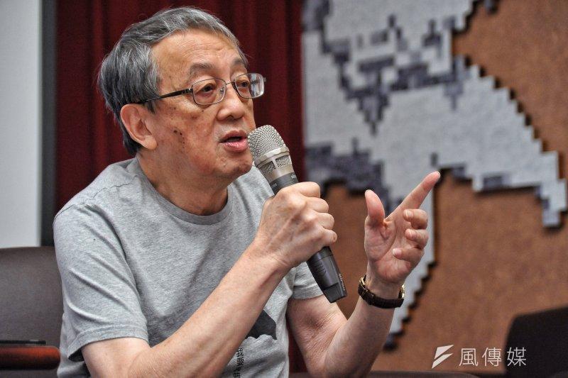 香港會重演二二八嗎?林保華認為就算發生也覺得不意外,因為中國已經不想用一國兩制,是要一國一制,目前這樣對待香港,對台灣也是個警覺。(甘岱民攝)