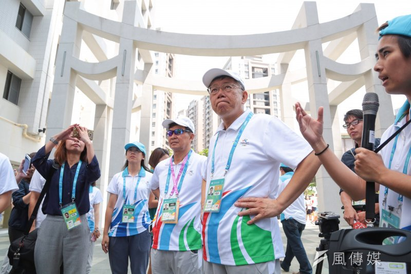 英系智庫7月中針對全國20歲以上公民進行的民調,也曾發現,近6成民眾贊成民進黨在下次台北市長選舉自提人選,尤其民進黨支持者更高達72%。(顏麟宇攝)