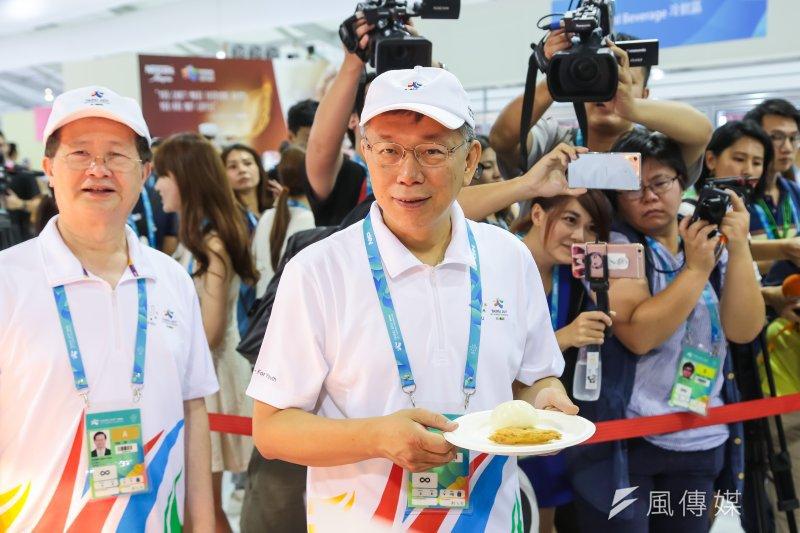 台北市長柯文哲曾表態拜會民進黨後,確曾主動聯絡洪耀福,盼能前往拜會聊聊,但被洪以「最近大家都很忙」為由推拒,碰了軟釘子。(顏麟宇攝)