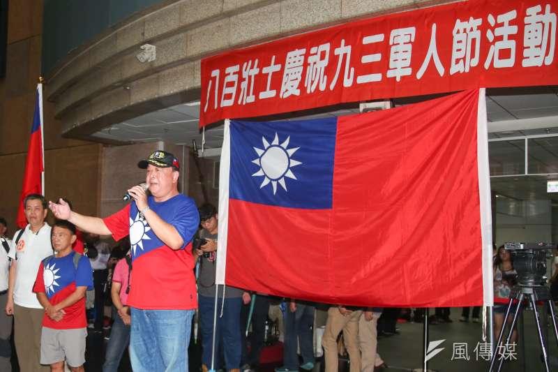 軍公教年金改革當中,最敏感的軍人年改部分,方案14日出爐。圖為八百壯士日前於台北車站抗議年改。(資料照,陳明仁攝)