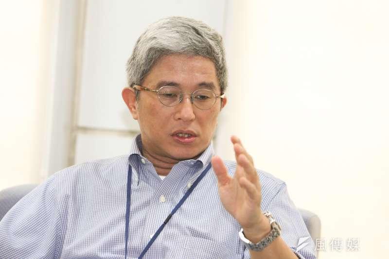 20170907-台灣民主基金會執行長-徐斯儉專訪。(陳明仁攝)