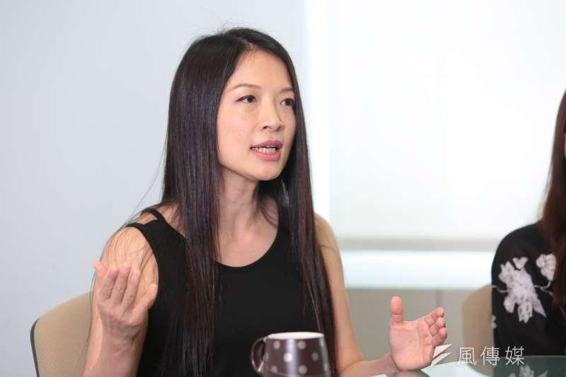 20170907-朱宗慶打擊樂團專訪,首席吳珮菁。(顏麟宇攝)
