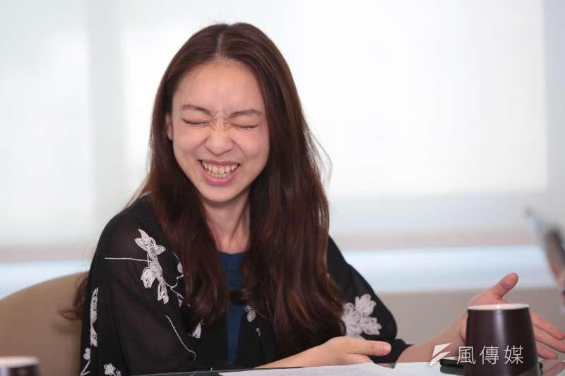 20170907-朱宗慶打擊樂團專訪,團員李玠嫻。(顏麟宇攝)