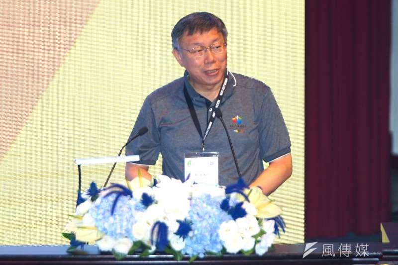 台北市長柯文哲14日於臉書發文指出,表示北市未來將推出租金分級補貼制度,也將釋出空屋,推出「包租代管」試辦計畫。(資料照,盧逸峰攝)