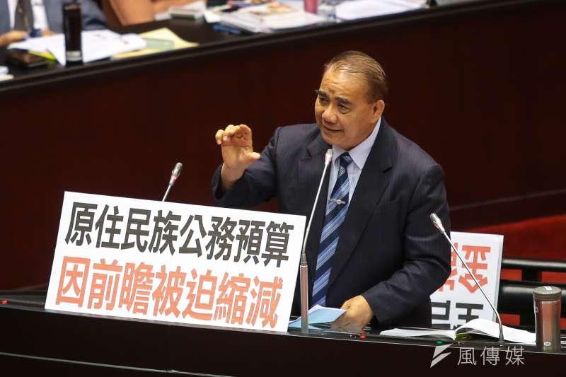 20171013-國民黨立委廖國棟13日於立院質詢。(顏麟宇攝)